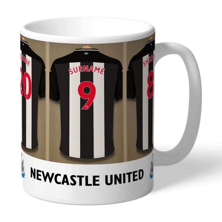 Personalised Newcastle United FC Dressing Room Mug