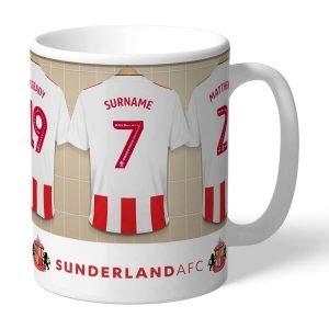 Personalised Sunderland FC Dressing Room Mug