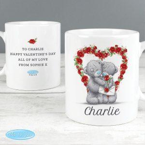 Personalised Me to You Valentine Mug