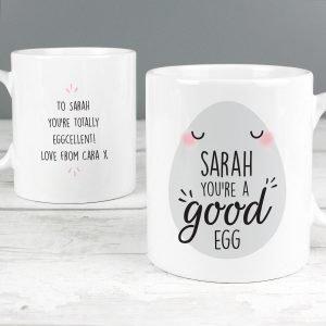 Personalised You're A Good Egg Mug