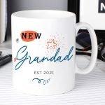 Personalised New Dad / Grandad Mug