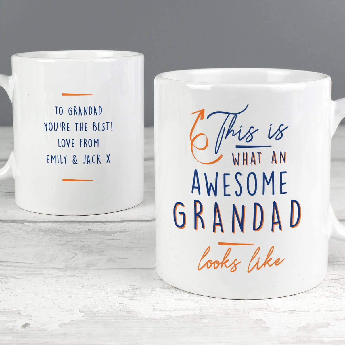 Personalised This Is What Awesome Looks Like Mug