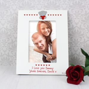 Personalised Me to You Big Heart 6×4 Photo Frame