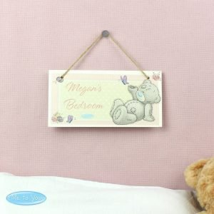 Personalised Me To You Wooden Sign