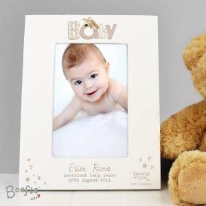 Personalised Boofle Baby 6×4 Photo Frame