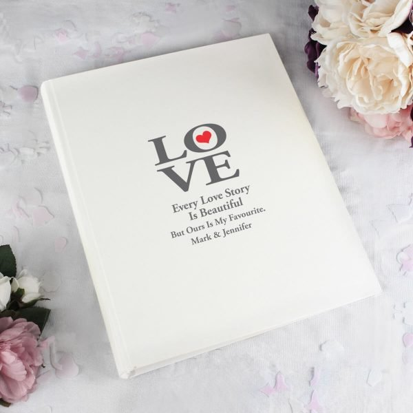 Personalised Love Album with Sleeves