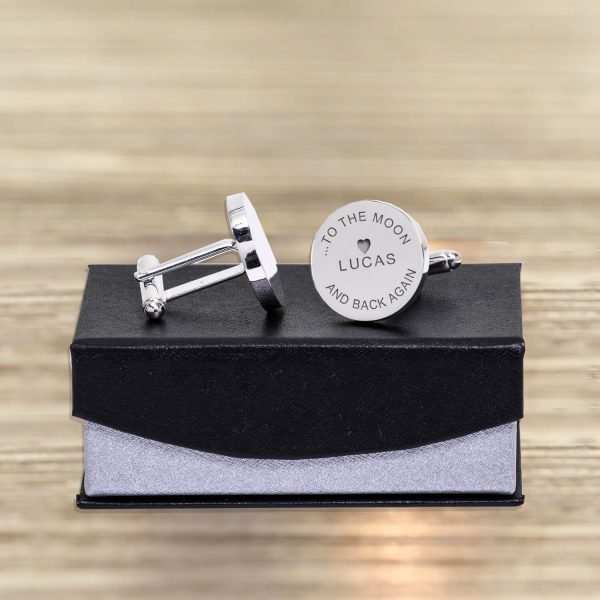 Personalised Cufflinks – Daddy Love You