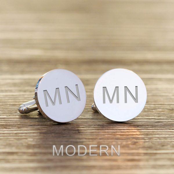 Personalised Cufflinks – Initials & Secret Message
