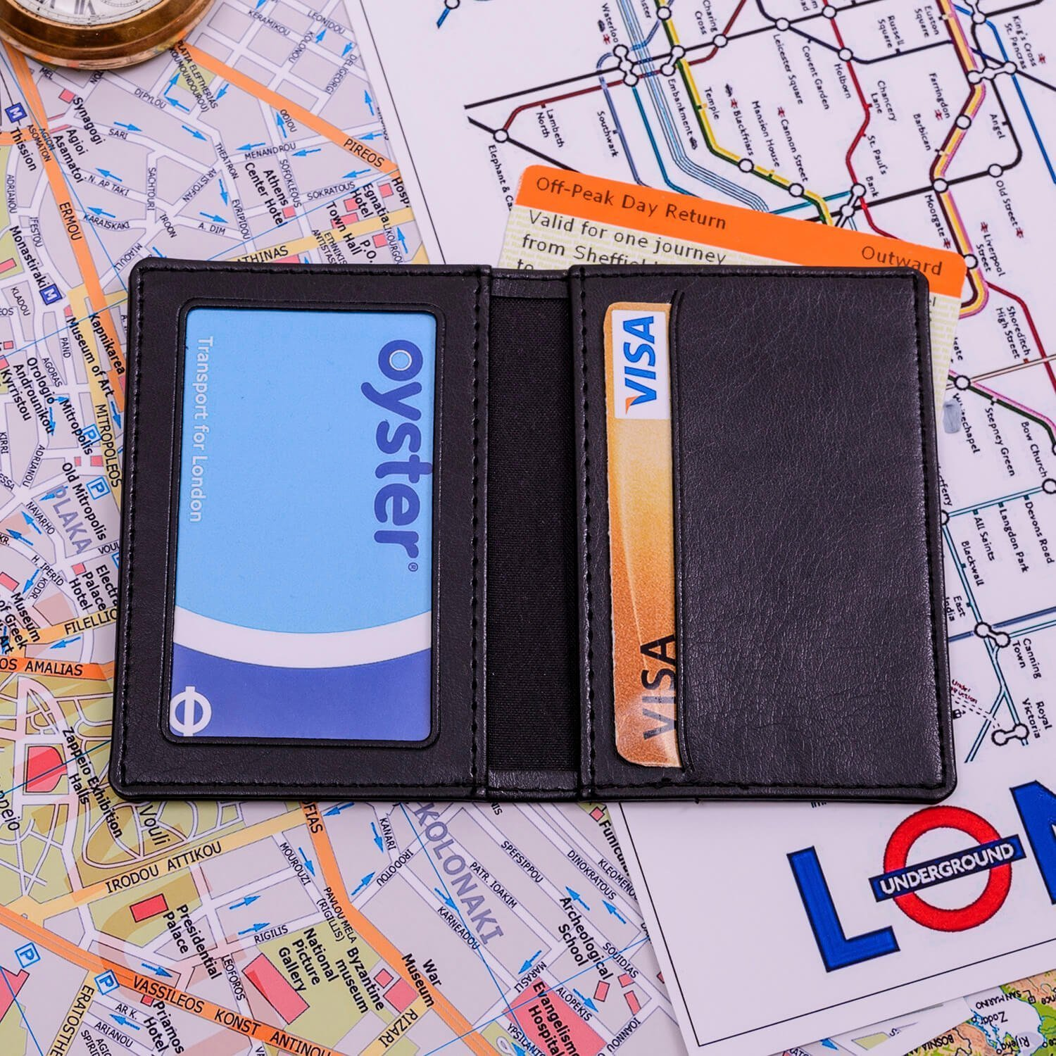 Personalised Oyster/Travel Card Holder – Initial