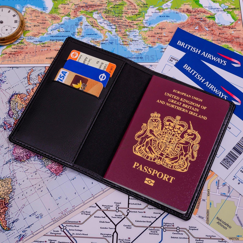 Personalised Passport Holder – Initial