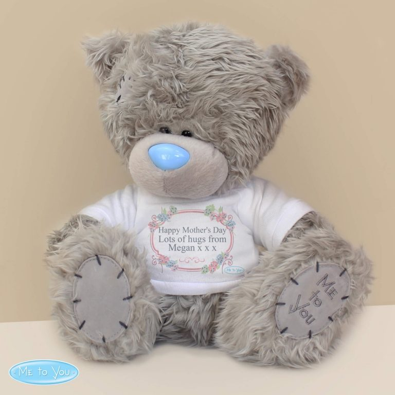 Personalised Me To You Teddy Bear 'Floral'