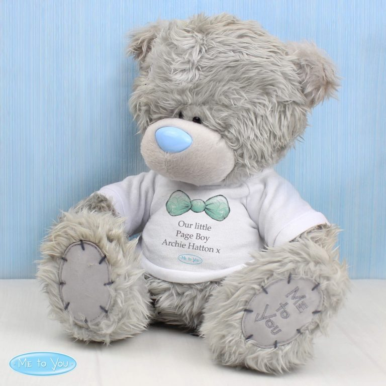 Personalised Me To You Teddy Bear for Pageboy and Usher