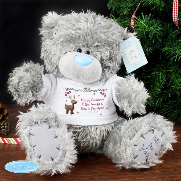 Personalised Me To You Teddy Bear Reindeer