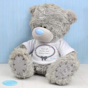 Personalised Me To You Teddy Bear Pastel Polka Dot