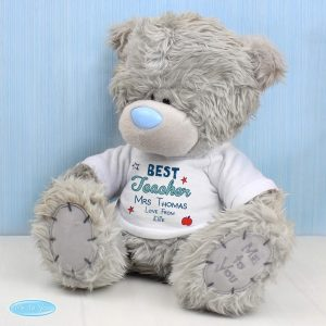Personalised Me to You Teddy Bear Best Teacher