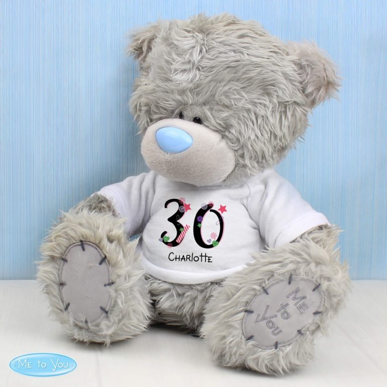Personalised Me to You Teddy Bear Birthday Big Age