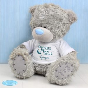 Personalised Me to You Teddy Bear 'To the Moon and Back'