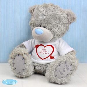 Personalised Me to You Teddy Bear Hearts