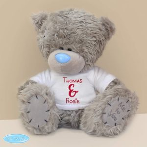 Personalised Me to You Teddy Bear Couples