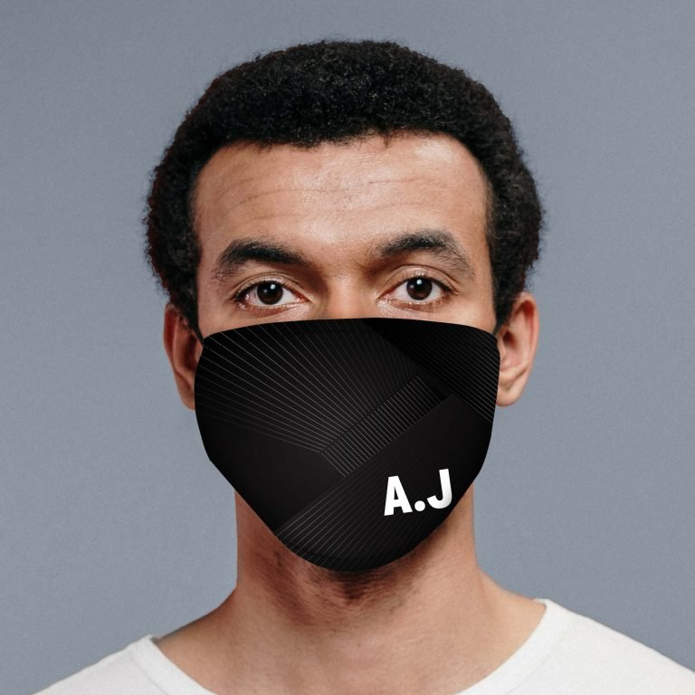 Personalised Face Mask – Initials