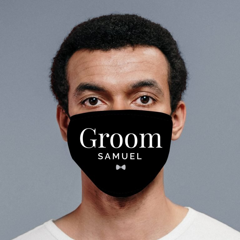Personalised Face Mask – Groom