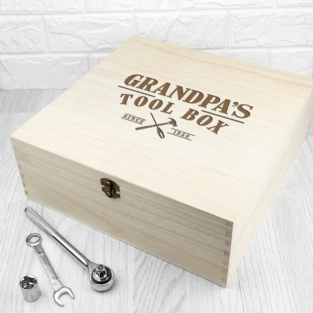 Personalised Tool Box – Name & Year