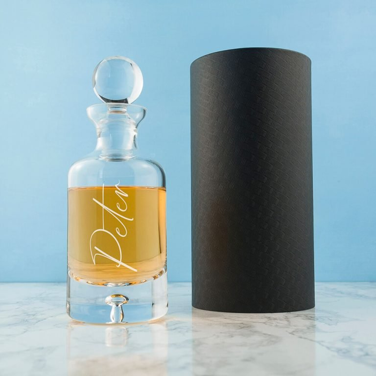 Personalised Engraver Decanter