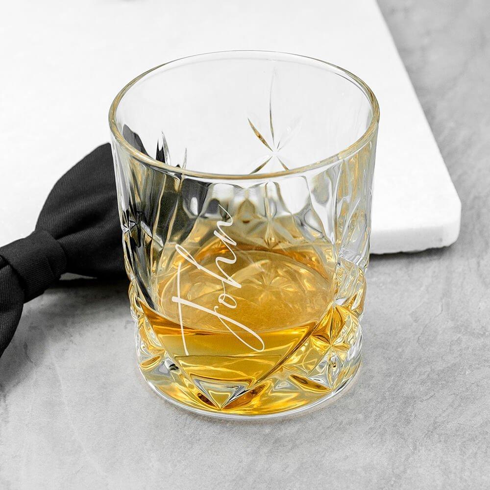 Personalised Whisky Tumbler – Name