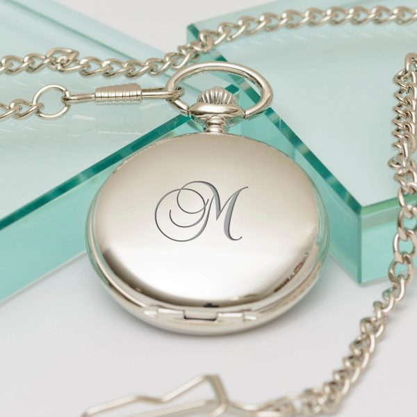 Personalised Value Pocket Watch – Initial