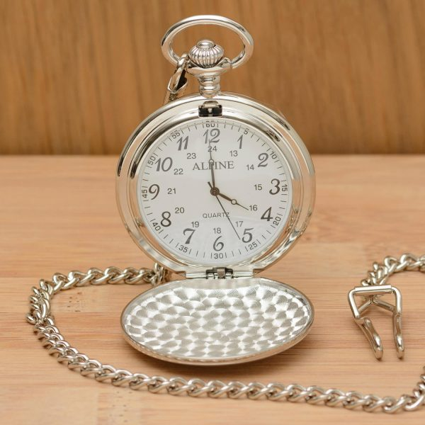 Personalised Value Pocket Watch – Initials