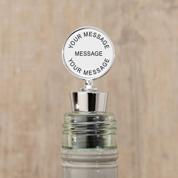 Personalised Bottle Stopper – Your Message