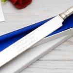 Personalised Wedding Cake Knife