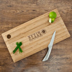 Personalised Bamboo Chopping Board – Chef of the Year