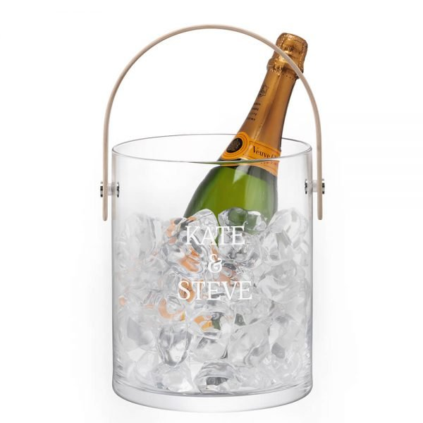 Personalised Ice Bucket – Your Message