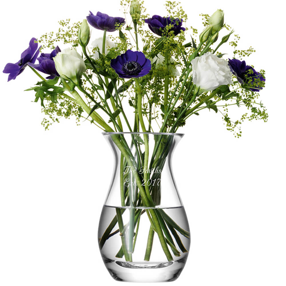 Personalised Posy Vase – Your Message