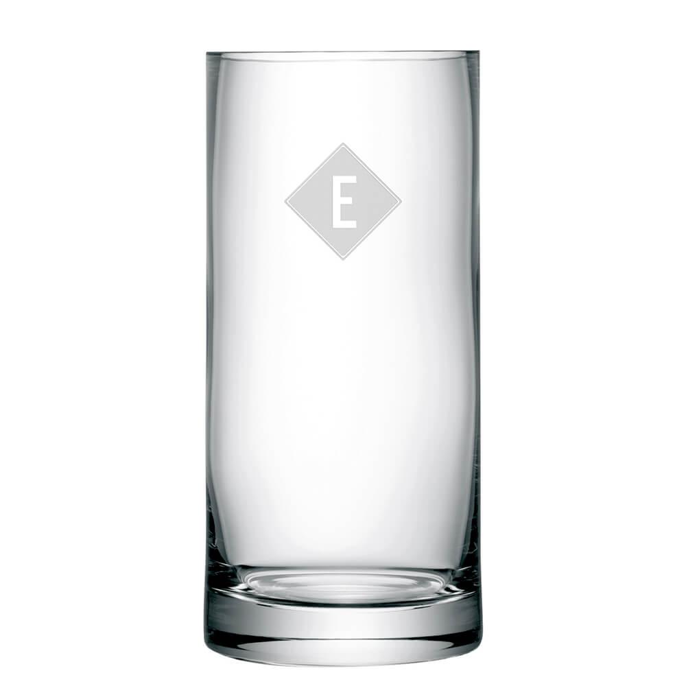 Personalised Column Vase – Initials
