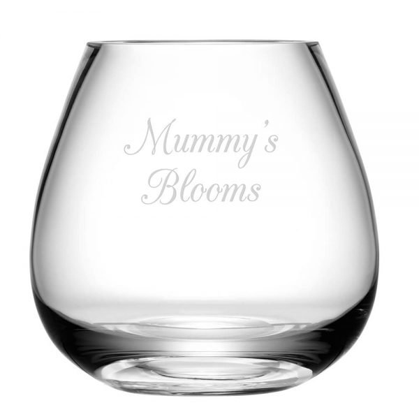 Personalised Bouquet Vase – Your Message