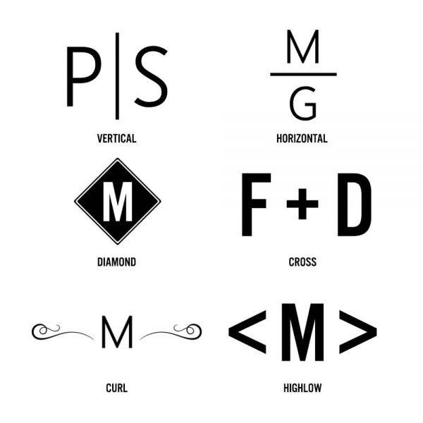 Personalised Platinum Necked Decanter – Initials