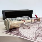 Personalised Luxury Message in a Bottle