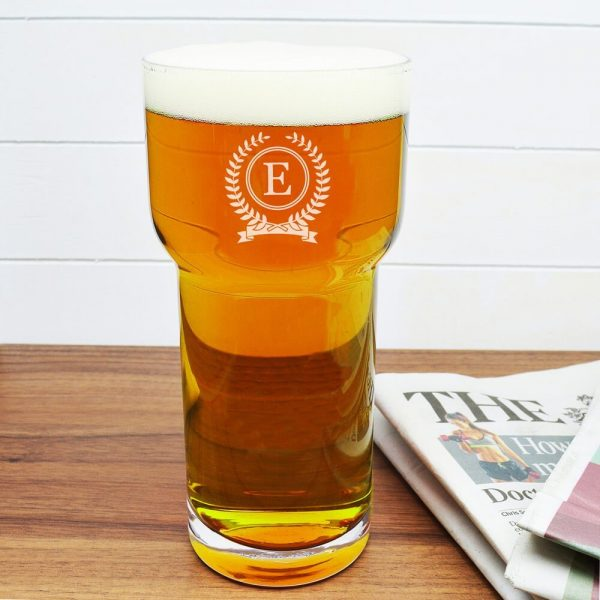 Personalised Beer Glass (LSA) – Initial