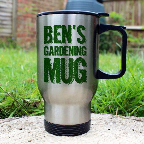 Personalised My Gardening Mug