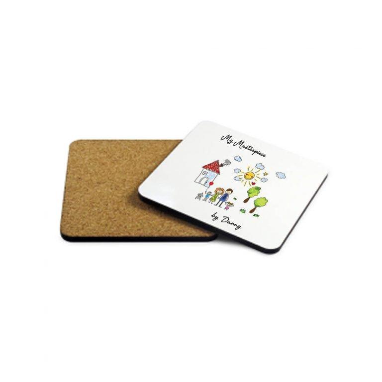 Personalised Wooden Coaster – My Mini Masterpiece