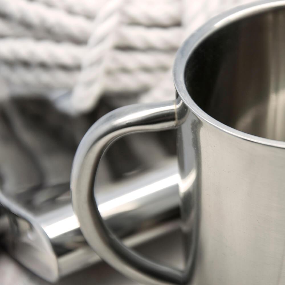 Personalised Original Hipster's Stainless Steel Mug