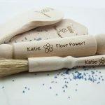 Personalised Kids Baking Set – Flour Power