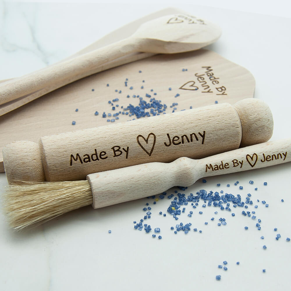 Personalised Kids Baking Set – Made by