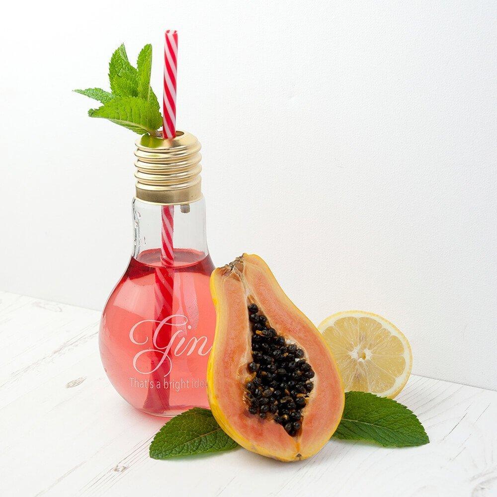 Personalised Lightbulb Cocktail Glass – Bright Idea
