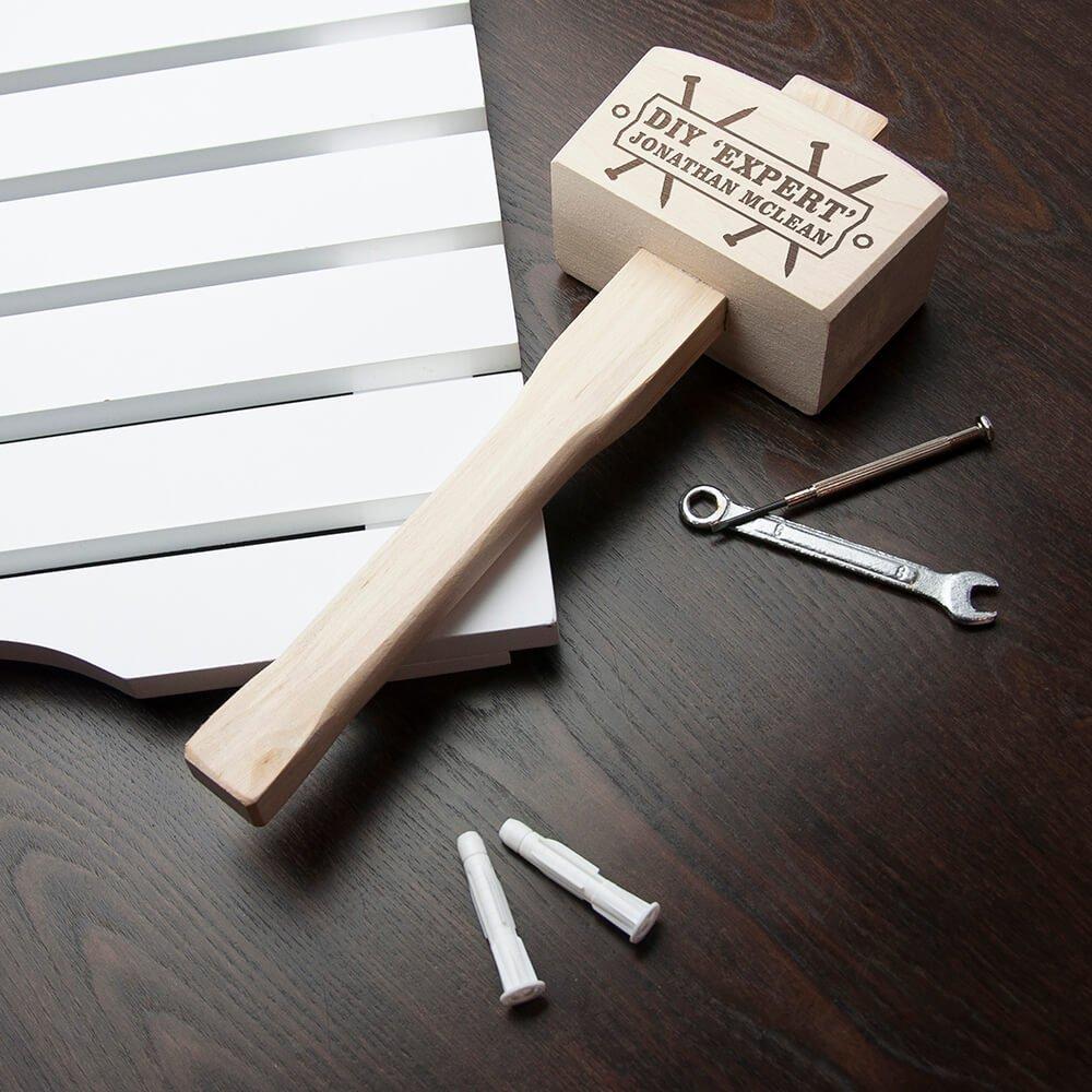 Personalised Wooden Hammer – DIY Expert