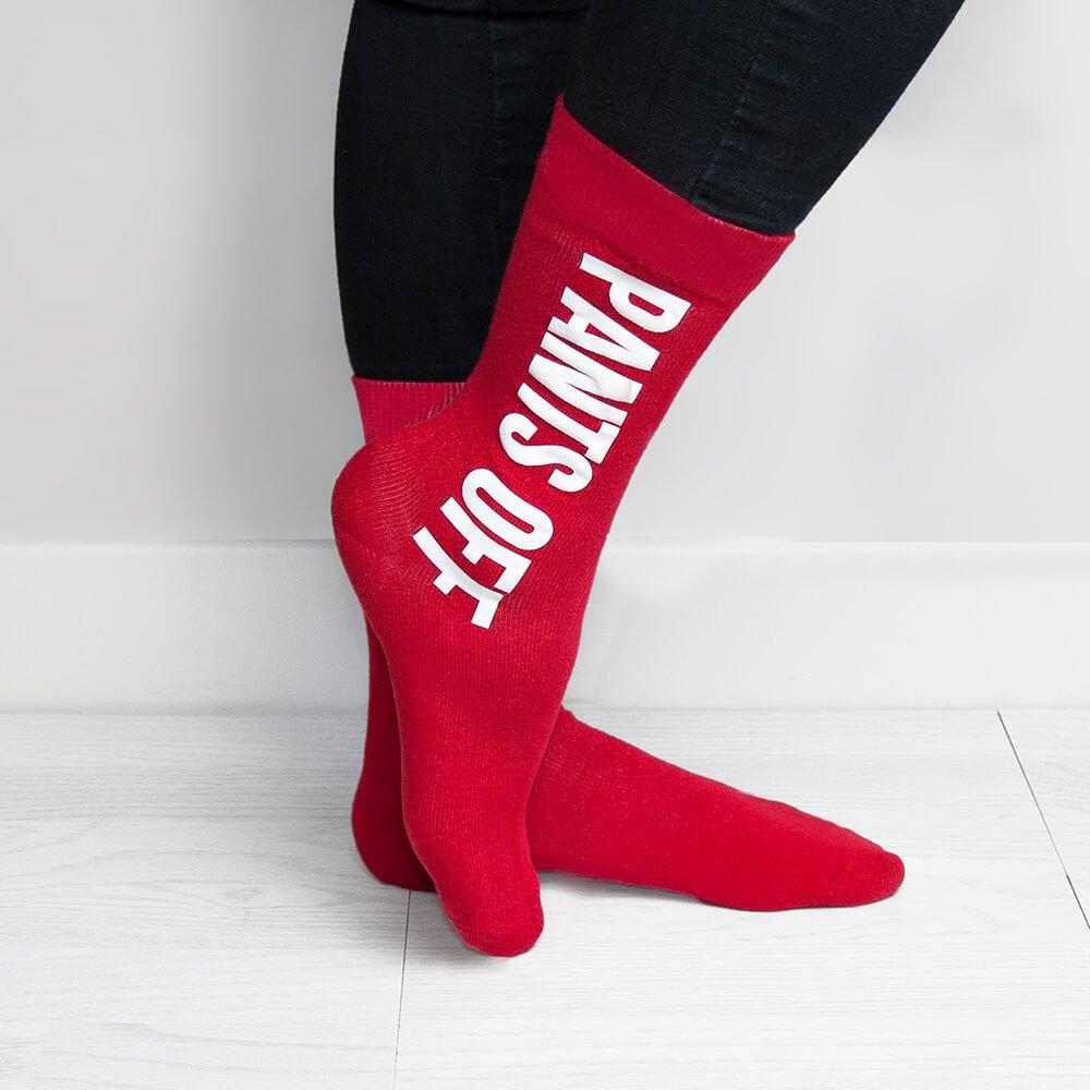 Personalised Socks – Cheeky Message