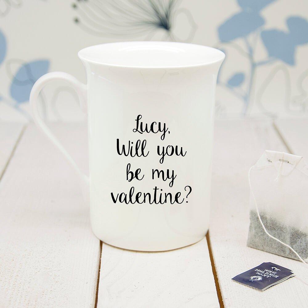 Personalised I've Bean Thinking Of You Bone China Mug