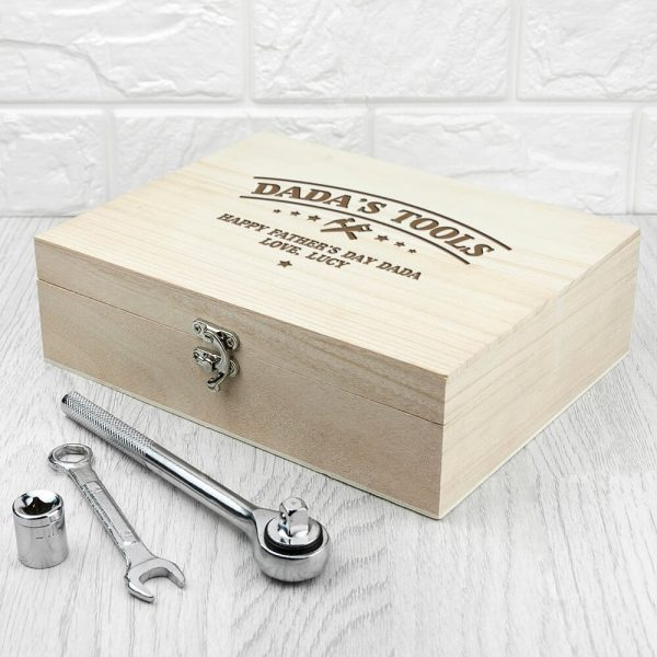 Personalised Tool Box – He Can Fix Anything